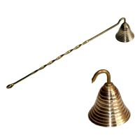 Brass Candle Snuffer - Bell Shape