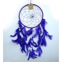 Large Dream Catcher ONE RING - Purple