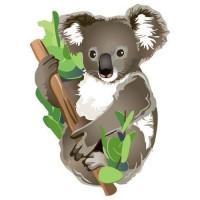 Fridge Magnet - KOALA in TREE