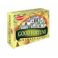 Hem Incense Cones - GOOD FORTUNE