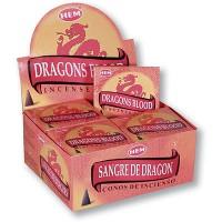 Hem Incense Cones - DRAGONS BLOOD