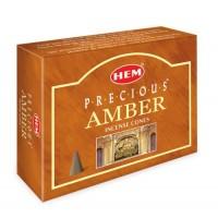 Hem Incense Cones - PRECIOUS AMBER