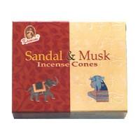 Kamini Incense Cones - SANDAL and MUSK