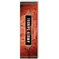 Hem Incense Sticks - AMBER & SANDAL