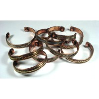 Copper Bangle Magnetic Bracelet Assorted Designs