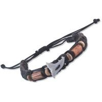 Leather Bracelet SHARKS TOOTH
