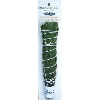 Crystal Magic Smudge Stick - Pine & Sweetgrass