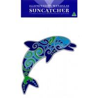 Decal / Window Sticker - Suncatcher DOLPHIN