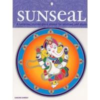 Decal / Window Sticker - Sunseal DANCING GANESH