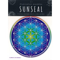 Decal / Window Sticker - Sunseal FLOWER OF LIFE MANDALA