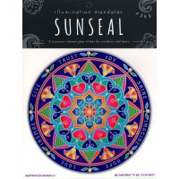 Decal / Window Sticker - Sunseal INSPIRATION MANDALA