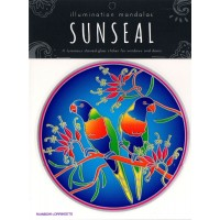 Decal / Window Sticker - Sunseal RAINBOW LORRIKEETS