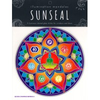 Decal / Window Sticker - Sunseal SEVEN CHAKRAS MANDALA