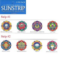 Decal / Window Sticker - Sunstrips EIGHT AUSPICIOUS SYMBOLS