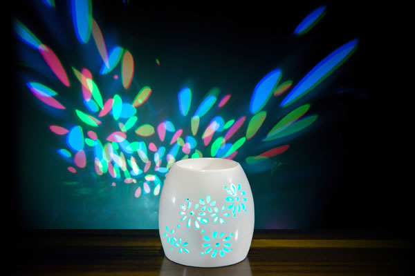 Multi LED Light Oil Burner