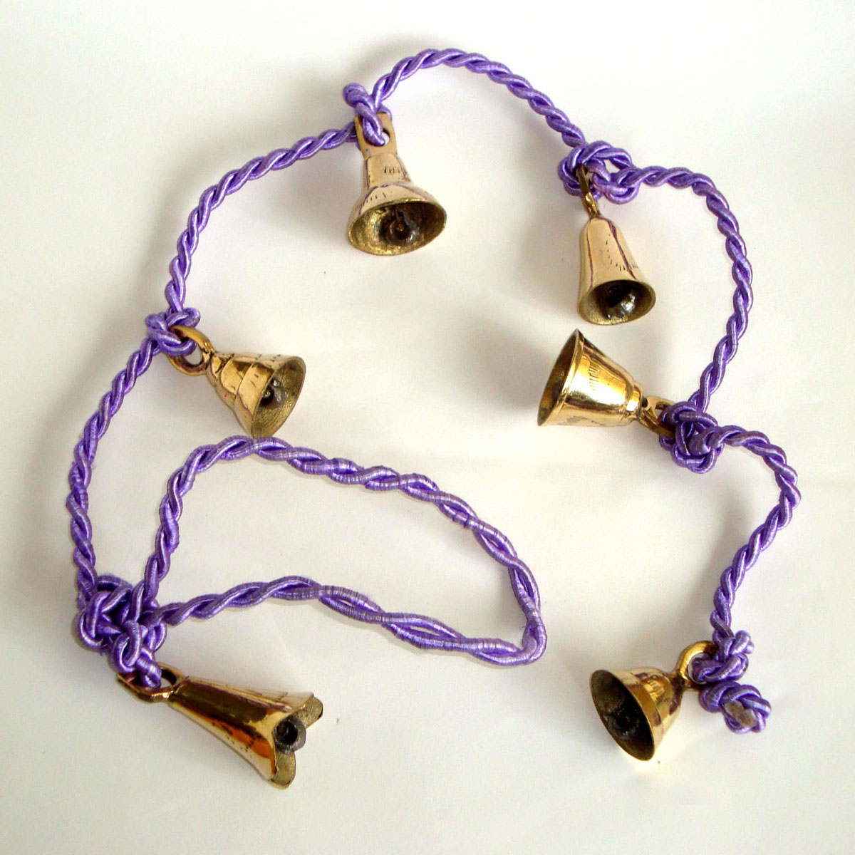 Brass Bells on String - LARGE