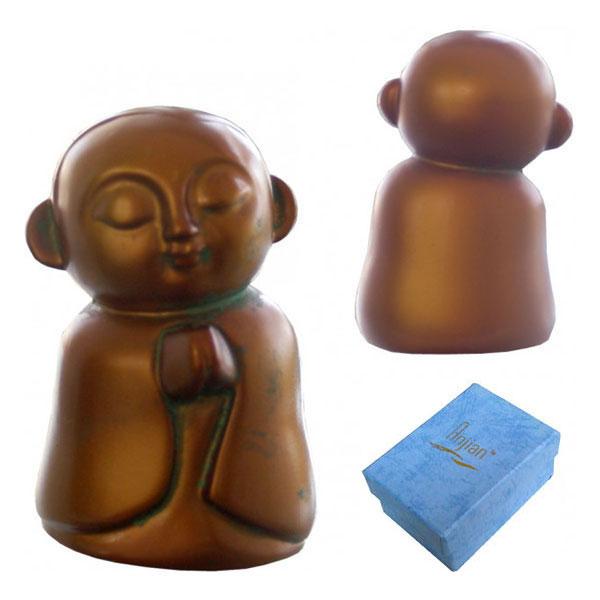 Jizo Praying - Bronze