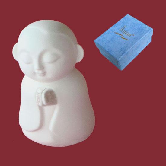 Jizo Praying - Ivory