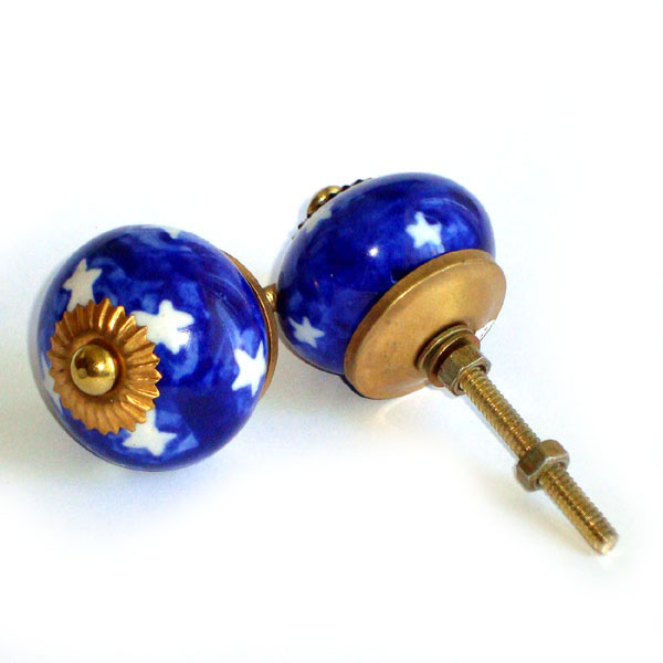 Ceramic Door Knob - LARGE - Design [A]