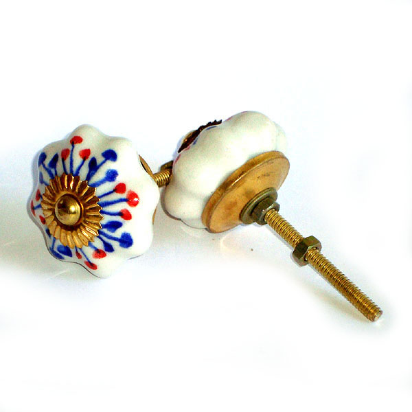 Ceramic Door Knob - LARGE - Design [C]