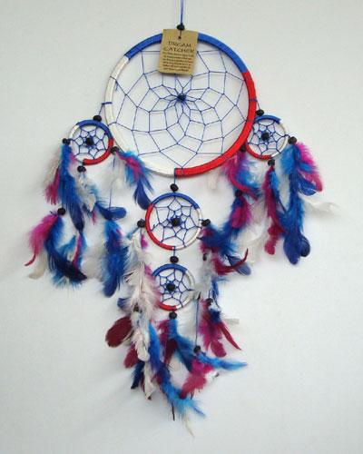 MEDIUM Dream Catcher - RED/WHITE/BLUE