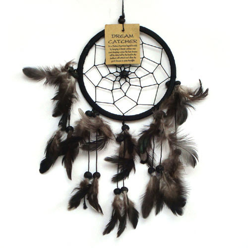 Small Dream Catcher ONE RING - Black