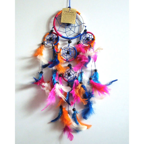 Mini Dream Catcher - Multi-Colour [A]