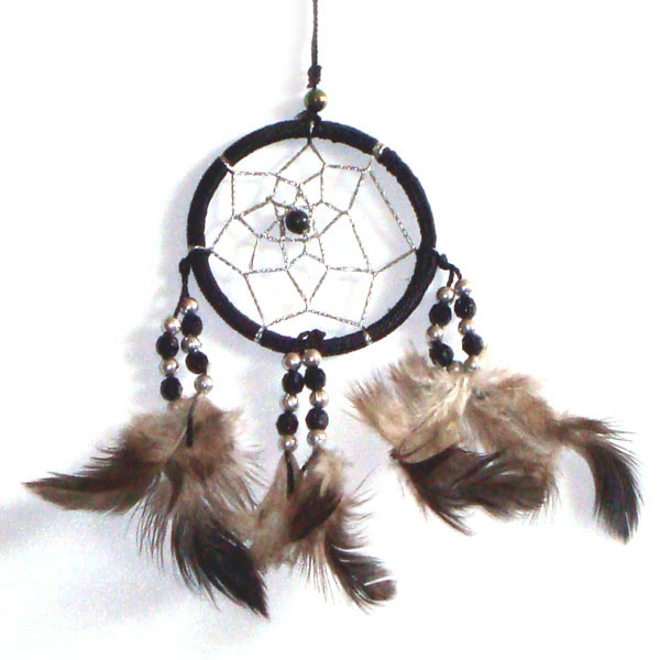Mini Dream Catcher - BLACK