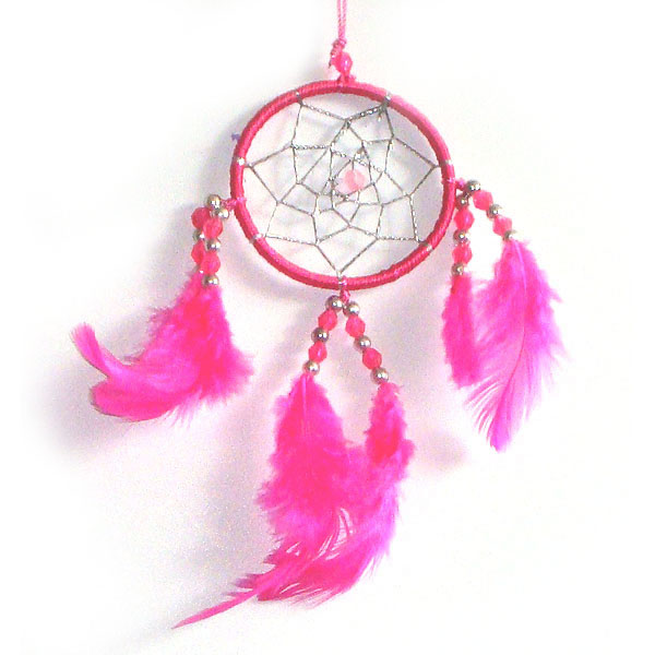 Mini Dream Catcher - PINK