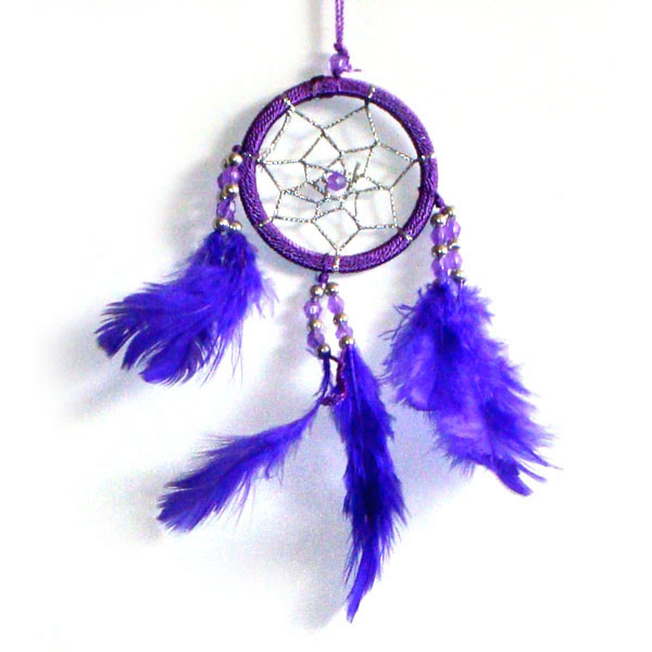 Mini Dream Catcher - PURPLE