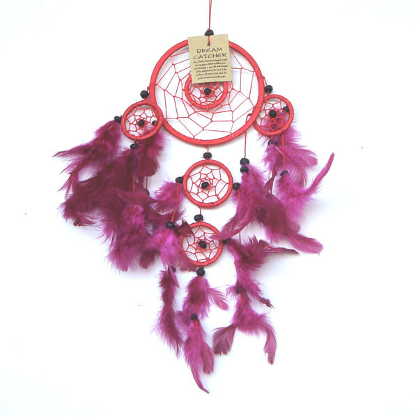 Small Dream Catcher - RED