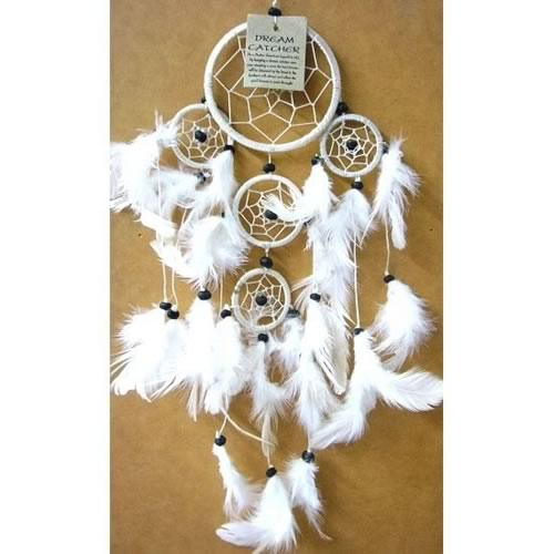 X-Large DREAM CATCHER - White