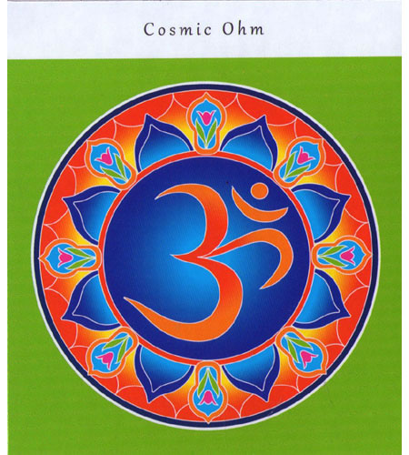 Inspirational Fridge Magnet - COSMIC OHM
