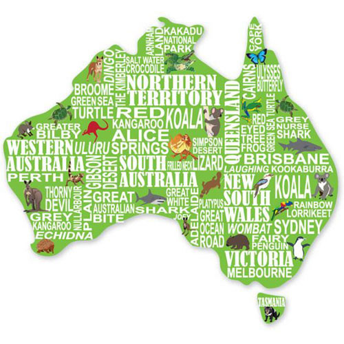 Fridge Magnet - AUSTRALIA