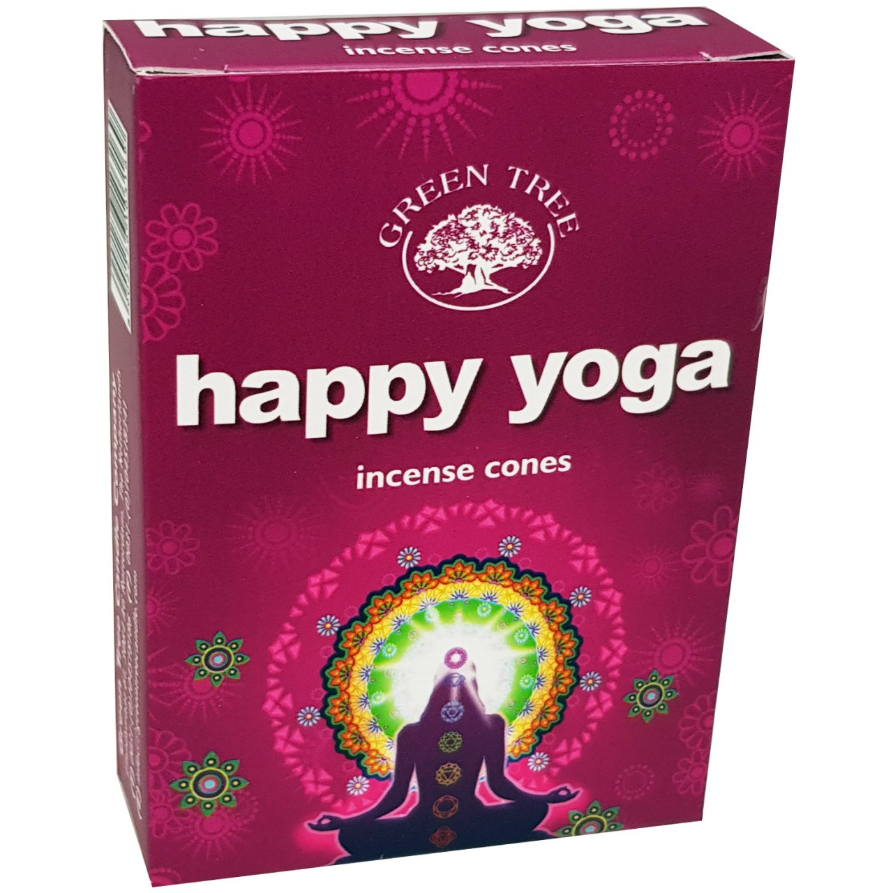 Green Tree Incense Cones - HAPPY YOGA