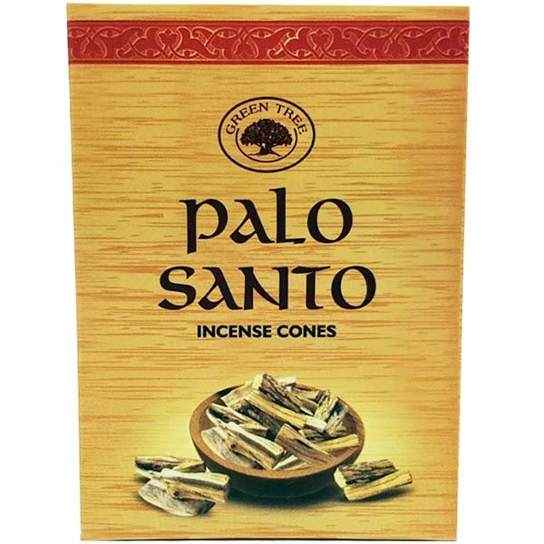 Green Tree Incense Cones - PALO SANTO