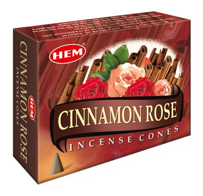 Hem Incense Cones - CINNAMON ROSE