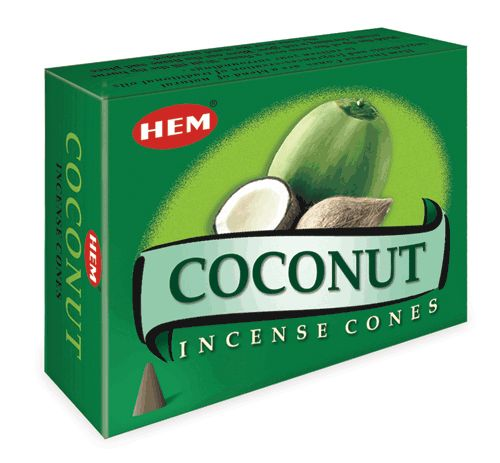 Hem Incense Cones - COCONUT