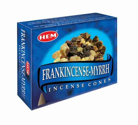Hem Incense Cones - FRANKINCENSE-MYRRH