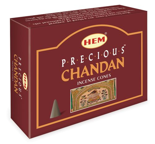 Hem Incense Cones - PRECIOUS CHANDAN