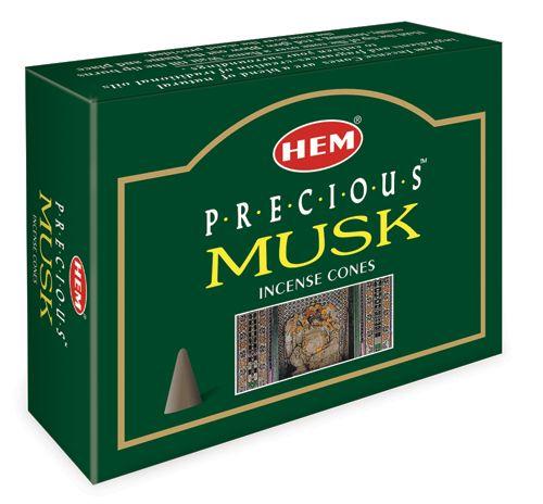 Hem Incense Cones - PRECIOUS MUSK