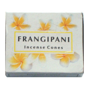 Kamini Incense Cones - FRANGIPANI