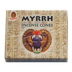 Kamini Incense Cones - MYRRH