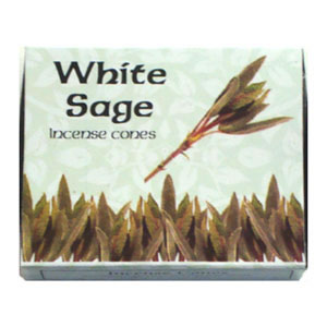 Kamini Incense Cones - WHITE SAGE