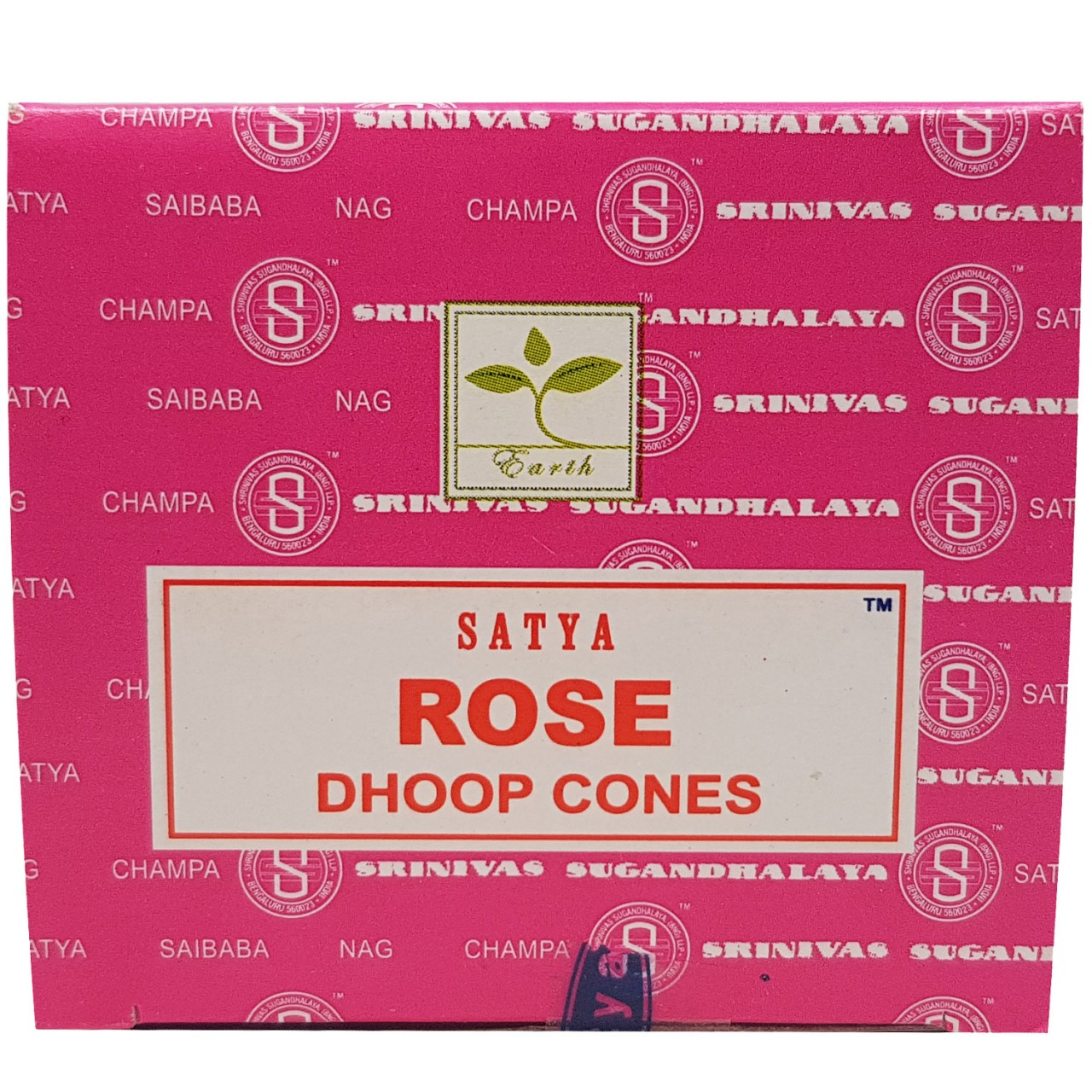 Satya Dhoop Cones - ROSE