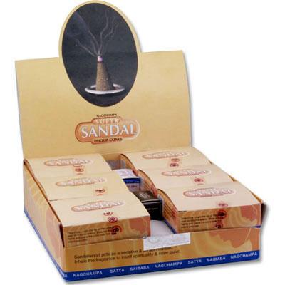 Nag Champa Dhoop Cones - SUPER SANDAL