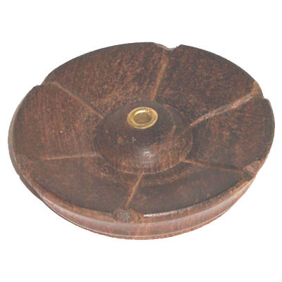 Incense Holder Tibetan Wooden - Lotus