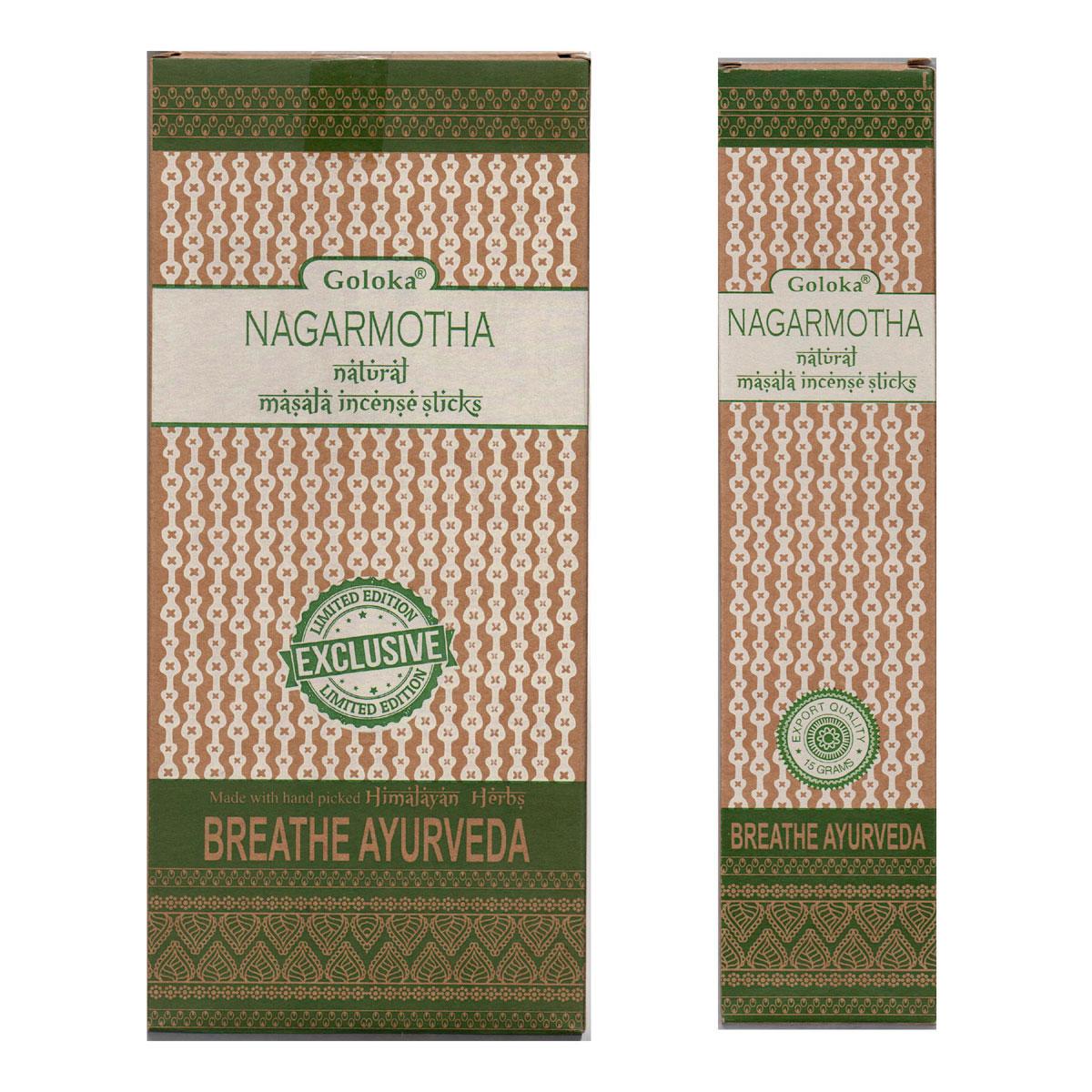Goloka Ayurveda Incense - NAGARMOTHA
