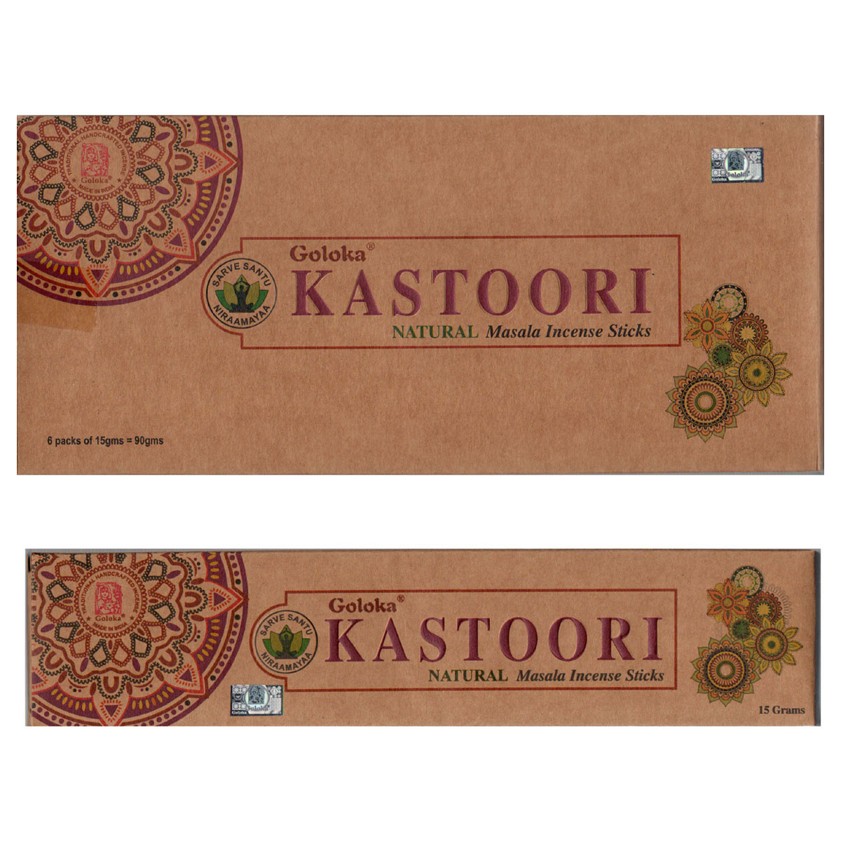 Goloka Incense - KASTOORI