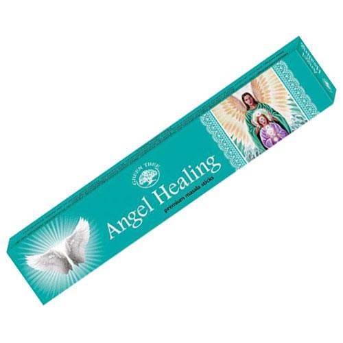 Green Tree Incense Sticks - ANGEL HEALING